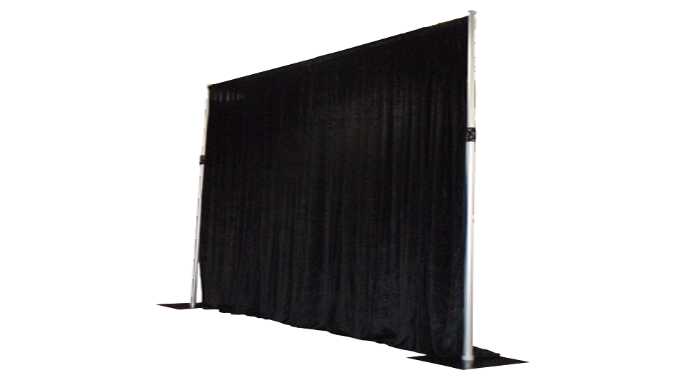 Catwalk Hire 3 with drapes